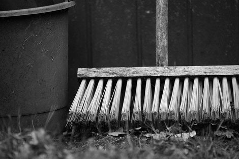 broom; cleaning